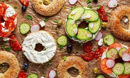 Bagels saludables